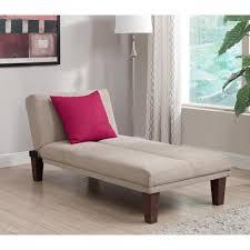 Home Depot Chaise Lounge Chairs Dhp Dillan Tan Microfiber Chaise Lounge 2018219 The Home Depot