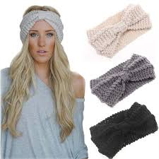 knitted headband ear warmer knitted headband bohemian bliss boutique