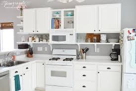 shelf for kitchen cabinets kitchen reno part 2 shelfing it up love pomegranate house