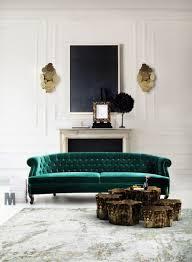 Emerald Green Velvet Sofa by A Velvet Sofa U2013 The Starting Point For My U201cnew U201d Living Room