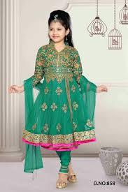 Baju Anak India finden sie hohe qualit磴t kinder anarkali churidar hersteller und