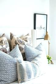 Lovely Decorative Bed Pillows Intended For Prepare 19