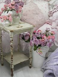 Shabby Chic Decorating Ideas Pinterest by Shabby Chic Nursery Style Purple Flower Arrangements Shabby