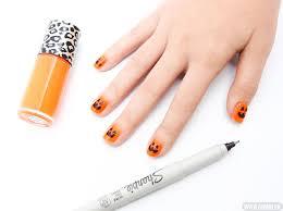 Halloween Nail Art Pumpkin - diy nail art pumpkin nails cosmo ph