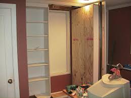 Interior Crawl Space Door Hidden Door Bookshelf How To In El Dorado County