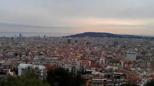 barcelona city view barcelona city view from the top youtube