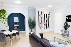 mr kate minimalist living room on a budget