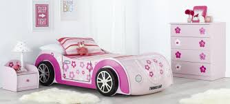 Child Bedroom Furniture by Daisy Kids Car Bed And Themed Bedroom Furniture Suite With Pink