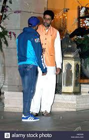 actor varun dhawan abhishek bachchan arrives industrialist mukesh