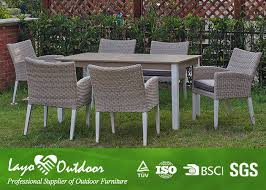 white extendable dining table set rattan outdoor patio furniture