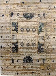 Sari Silk Rugs by Tahiti Ivory Teal Sari Rug Addison Dicus