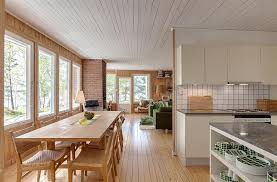 Mid Century Modern Tiny House Gallery Mid Century Modern Home In Sweden Small House Bliss