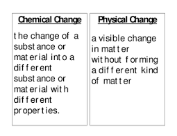 lesson day 1 physical vs chemical changes betterlesson