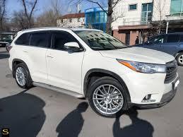 2015 Highlander Release Date Toyota Highlander White Custom Wheels Google Search Car Ideas