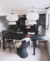 Dining Room Murals Ellie Cashman Dark Floral Ii Black Desaturated Xxl 300