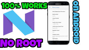 got nougat on android no root device 8 0 0 100 works youtube