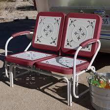 Gliding Adirondack Chairs Interior Outdoor Gliders For Sale Glider Loveseat Vintage