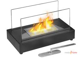 table top ethanol fireplace home decorating interior design