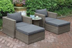 Metal Patio Table And Chairs by Lizkona Outdoor Patio 5 Pcs Lounge Sofa Set By Poundex