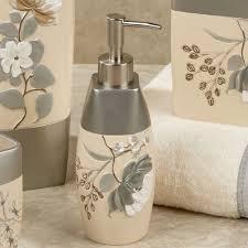 Avanti Bathroom Accessories by Ashley Floral Bath Accessories Floral Bathroom Accessories Tsc