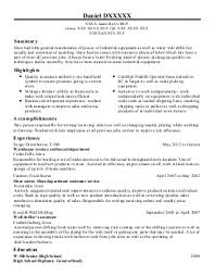 Wastewater Treatment Plant Operator Resume Wastewater Treatment Resume Denise Tory S Resume Amp Cover