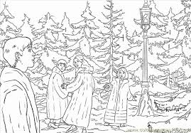 coloring pages chronicles narnia cartoons 623224
