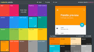 new website makes it easy to generate and export material design