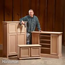 woodworking projects the family handyman