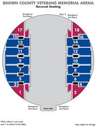 Bca Floor Plan Seating Maps Resch Center