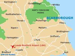 map uk harrogate scarborough travel guide and tourist information scarborough