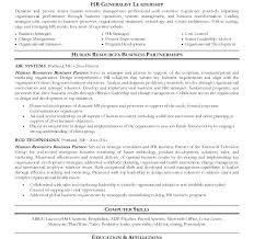 resume skills exle hr business partner resume sle megakravmaga