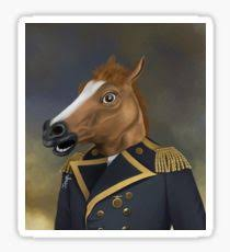 Horse Head Mask Meme - horse mask meme stickers redbubble
