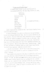 a one man vaudeville show script print material description