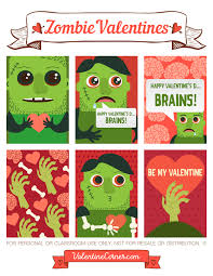 free printable zombie images free printable zombie valentine cards download the valentines in