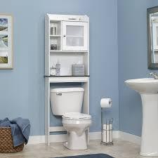 amazon com sauder caraway etagere bath cabinet soft white finish