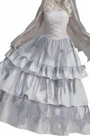 Ghost Costumes Victorian Ghost Bride Women U0027s Costume Long Ghost Costume