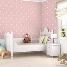 rosa kinderzimmer mustertapete für kinderzimmer no yk59 weiße herzen auf rosa