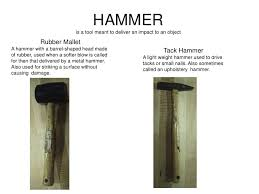 Upholstery Hammer Hand And Power Tools