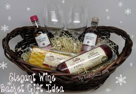 wine gift basket 12 gift basket ideas