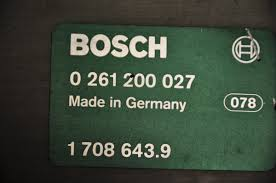 for sale used bosch ecu dme 0261200027 motronic bmw m20 6 cyl e30