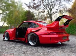 rauh welt porsche 911 porsche 911 964 rwb rauh welt begriff modellauto umbau 1 18 in