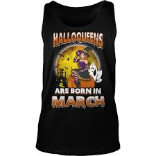Disney Halloween Tee Shirts by Halloqueens Are Born In March Shirt