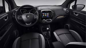 renault captur black renault captur bose edition interior dashboard indian autos blog