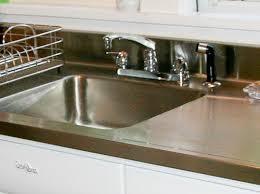 Joe Replaces A Vintage Porcelain Drainboard Kitchen Sink With A - Retro kitchen sink