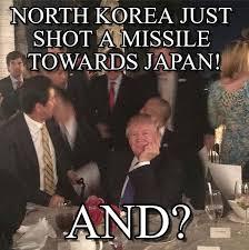 Japan Memes - north korea just shot a missile towards japan on memegen