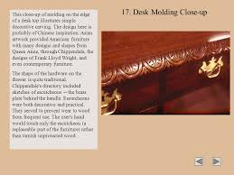 Desk Molding Styles Of American Furniture Ppt Download