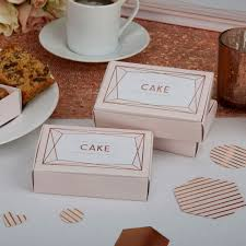 geo blush rose gold wedding party supplies favours decorations