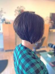 how to cut hair in a stacked bob best 25 stacked bob short ideas on pinterest short bob