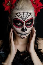 la catrina sugar skull make up halloween day of the dead by