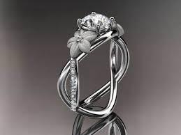 cheap unique engagement rings unique engagement ring with cut diamond ipunya
